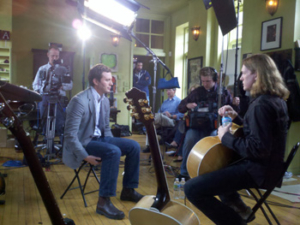 Billy McLaughlin Interview with Jeff Glor