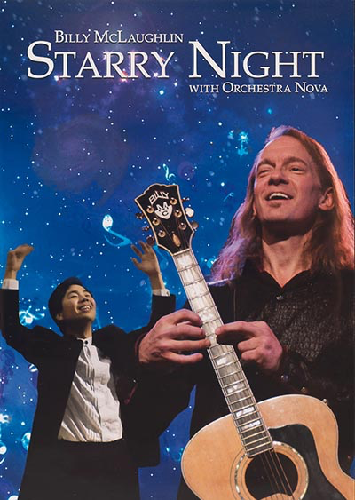 Starry Night with Orchestra Nova DVD
